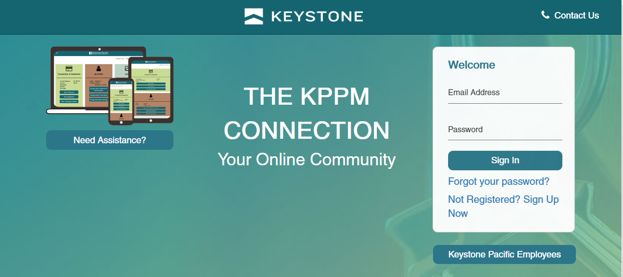 KPPM Connection Homepage